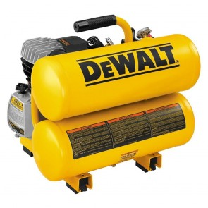 DEWALT 1.1 HP, 4 Gallon, Hand Carry Air Compressor (3.2 CFM at 100 PSI)