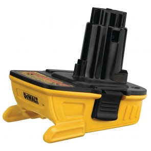 DeWalt 20V MAX Lithium-Ion Battery Adapter for 18V Cordless Tools