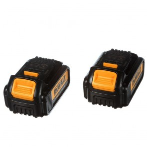 DeWalt 20V MAX 3 Ah Lithium-Ion Battery (2-Pack)