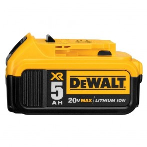DeWalt 20V MAX 5.0 Ah XR Premium Lithium-Ion Battery
