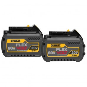 DeWalt FLEXVOLT 20V/60V MAX 6.0 Ah Battery (2-Pack)