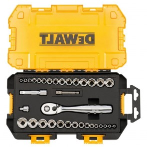 DeWalt 34-Piece Stackable 1/4 in. and 3/8 in. Drive Socket Set