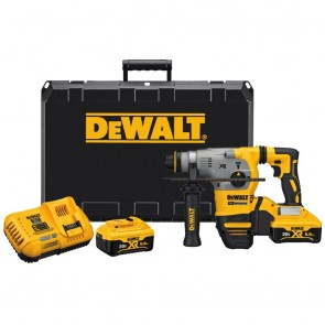 DeWalt 20V MAX XR Cordless Lithium-Ion 1-1/8 in. L-Shape SDS-Plus Rotary Hammer Kit