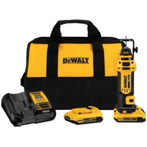 DeWalt 20V MAX 2.0 Ah Cordless Lithium-Ion Drywall Cut-Out Tool Kit