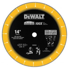 "DeWalt 14"" x 1"" Diamond Edge Chop Saw Blade"