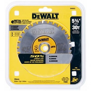 "DeWalt 5-3/8"" 30T Carbide Saw Blade"