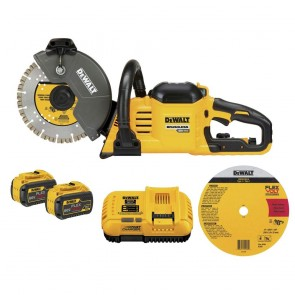 DeWalt Flexvolt 60V Max Cordless Brushless 9in Cut Off Saw Kit