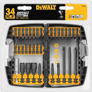DeWalt 34-Piece Screwdriver Bit Set