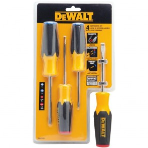 DeWalt 4-Piece Screwdriver Set