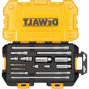 DeWalt 15-Piece Stackable Socket Accessory Kit