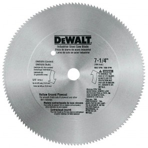 DeWalt 7-1/4 in. 140-T Steel Plywood Saw Blade