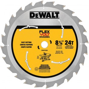 DeWalt 8-1/4 in. 24T Table Saw Blade