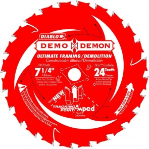 Diablo 7-1/4 in. x 24 Tooth Ultimate Framing / Demolition Saw Blade