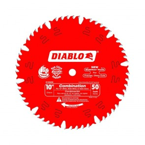 Diablo 10 in. x 50-Teeth Combination Saw Blade