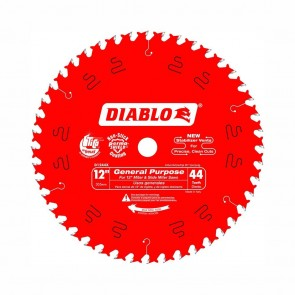 Diablo 12 in. x 44 Tooth General Purpose Wood Saw Blade