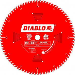 Diablo 14 in. x 84 Tooth Fine Finish Saw Blade