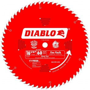 Diablo 16-5/16 in. x 60 Tooth Fine Finish Beam Saw Blade