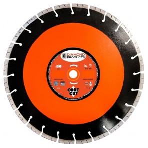 "Diamond Products 20"" x .125 Heavy Duty Orange Circular Saw Blade"