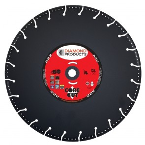 """Diamond Products 6"""" x .090 A2Z Vacuum Bonded High-Speed Specialty Blade"""