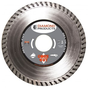 "Diamond Products 4-1/2"" x .080 Delux-Cut High Speed Turbo Blade"