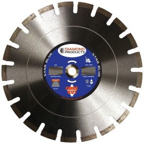 "Diamond Products 5"" x .250 Star Blue Circular Saw Blade"