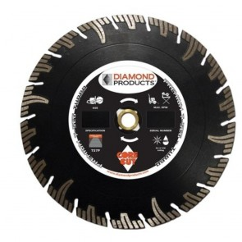 "Diamond Products 6"" x .075 Premium T-Seg Specialty Turbo Blade"