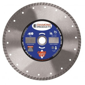 "Diamond Products 5"" x .080 Star Blue High-Speed Turbo Blade"