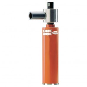 "Diamond Products 2"" Heavy Duty Orange Dry Vacuum Bit"
