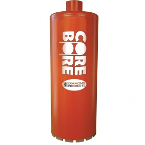 "Diamond Products 20"" Heavy Duty Orange Wet Core Bit"