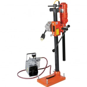 Diamond Products Electric Combination Drill Rig w/ Vacuum pump