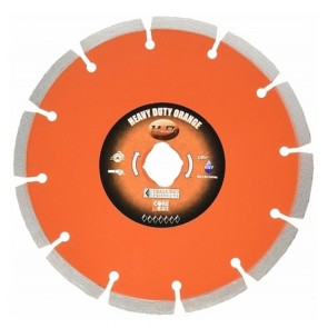 "Diamond Products 4"" x .070 Heavy Duty Orange Small Diameter Segmented Blade"