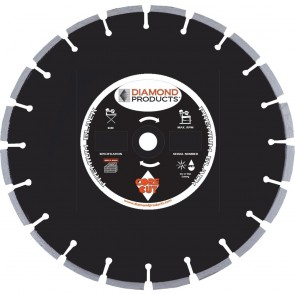 "Diamond Products 20"" x .125 Premium Black Circular Saw Blade"