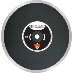 "Diamond Products 14"" Premium Black Continuous Rim Tile Diamond Blade"