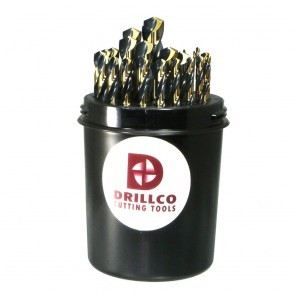 Drillco 29pc Nitro Jobber Drill Bit Set