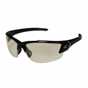 Edge Eyewear Khor G2 Black Clear Anti-Reflective Safety Glasses