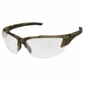 Edge Eyewear Khor G2 Forest Camo Safety Glasses with Clear Lens
