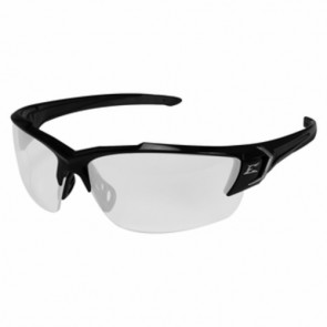 Edge Eyewear Khor Black Clear Vapor Shield Lens Safety Glasses