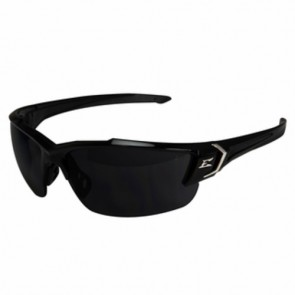 Edge Eyewear Khor G2 Black Safety Glasses with Smoke Lens