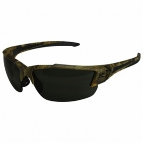 Edge Eyewear Khor G2 Forest Camo Safety Glasses with Smoke Lens