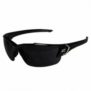 Edge Eyewear Khor G2 Black Safety Glasses with Smoke Vapor Lens
