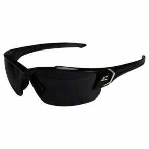 Edge Eyewear Khor G2 Black Polarized Smoke Lens Safety Glasses