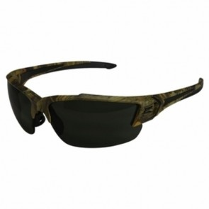 Edge Eyewear Khor G2 Forest Camo Polarized Smoke Safety Glasses