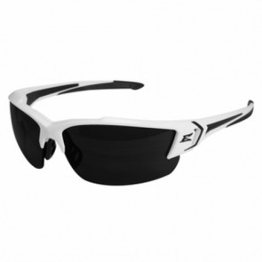 Edge Eyewear Khor G2 White Polarized Smoke Lens Safety Glasses