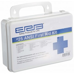 ERB 25 Person Plastic First Aid Kit
