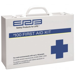 ERB 100 Person Plastic First Aid Kit