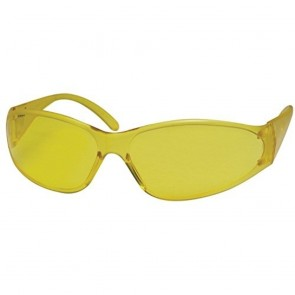 ERB Boas Safety Glasses with Amber Frame and Amber Lens