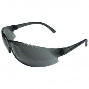 ERB Superbs Safety Glasses with Smoke Temple and Smoke Lens