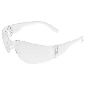 ERB IProtect Safety Glasses with Clear Temple and Clear Lens