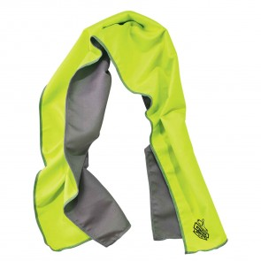 Ergodyne Chill-Its® 6602MF Evaporative Microfiber Cooling Towel (Lime)