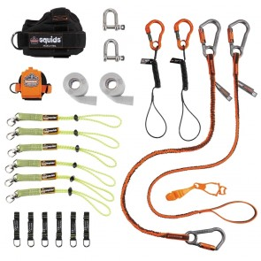 Ergodyne Squids Iron/steel Worker's Tool Tethering Kit